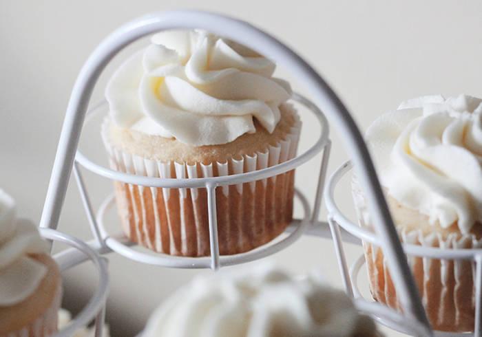 Cupcake mit Buttercreme Topping