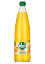 bizzl HERB-SÜSS Orange, Glasflasche 0,75L