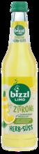 bizzl HERB-SÜSS Zitrone, Glasflasche 0,5L